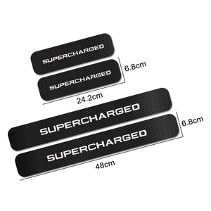 Image 5 - 4PCS For Land Rover Discovery 3 4 2 Freelander 2 1 Evoque Velar Car Door Sill Plate Stickers Car Tuning Accessories