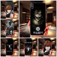 Picture Phone Case Death Note Ryuk Kira Design For Samsung Galaxy Note 5 8 9 S3 S4 S5 S6 S7 S8 S9 S10 5G mini Edge Plus Lite(China)
