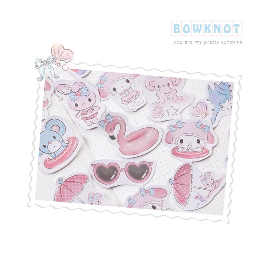 frete gratis 56 caixas rosa bonito coelho 01