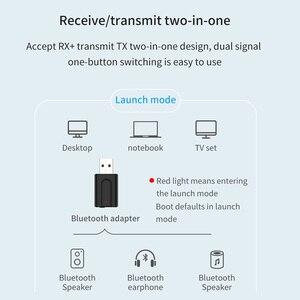 Image 4 - Vikefon bluetooth 5.0 receptor de áudio transmissor 2in1 rca 3.5mm aux jack alta fidelidade estéreo usb sem fio adaptador para tv pc carro kit mp3