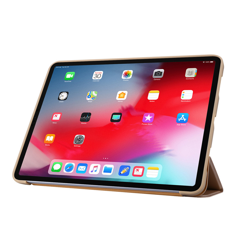 Leather Case Silicone For 11Pro Case iPad Smart Case Soft For Tri-fold 2020 PU Cover