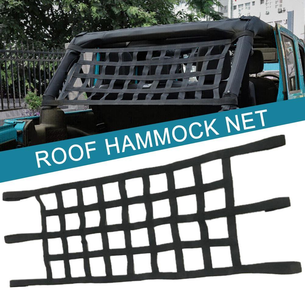 Coche de techo hamaca red nunca Óxido de alta calidad tejido de malla de Nylon red de protección para Jeep vaquero TJ JK JL 1997-2019 Modelo a escala de 5 uds material de construcción techos de láminas de PVC en tamaño 210x300mm para diseño de la arquitectura