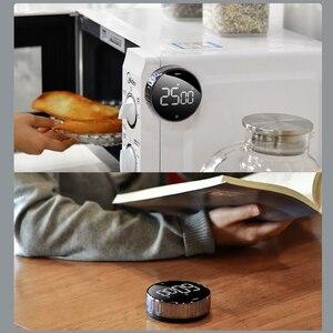 Image 5 - Baseus manyetik dijital zamanlayıcılar manuel geri sayım mutfak zamanlayıcı geri sayım çalar saat mekanik mutfak zamanlayıcısı Alarm sayacı saat