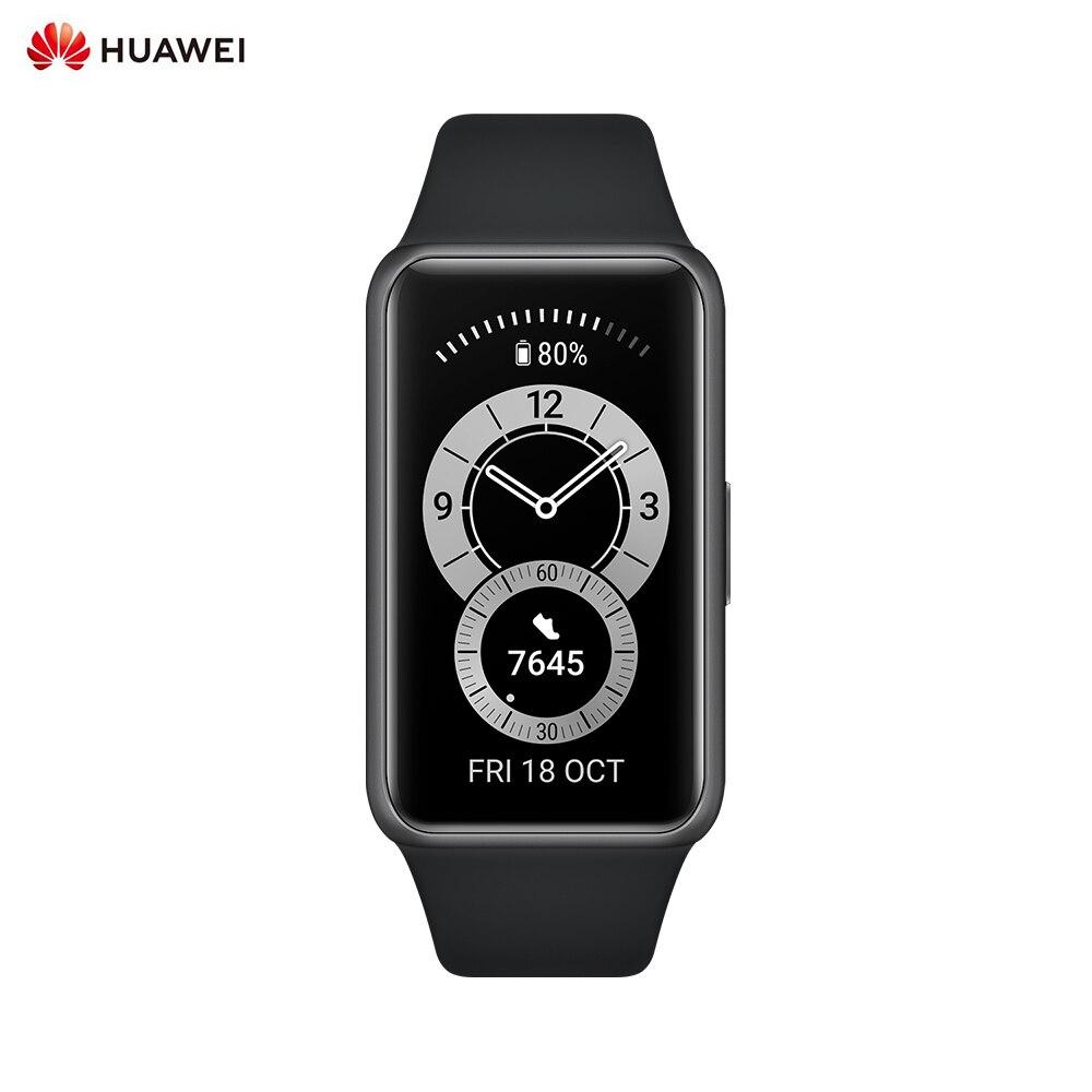 Смарт-часы Huawei Band 6, браслет с кислородом в крови, смарт-браслет, водонепроницаемый фитнес-трекер, умные часы