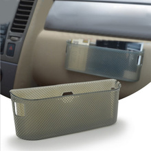 цена на 1 X Car Dashboard Soft TPU Card Phone Key Holder Organizer Storage Box Container