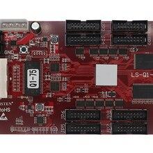 Ouça Q1-PLUS (75e) substituir LS-Q1-75 cor cheia led tela controlador cartão 8 grupo hub75e