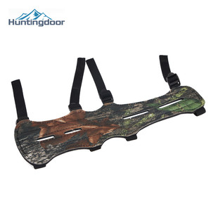 Archery Bow and Arrows Arm Guard Camouflage Oxford Fabric Armguard Outdoor Hunting Shooting Arm Protector Sports