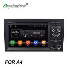 Auto Lettore DVD IPS Android 9.0 Octa Core 4GB + 32G ROM AHD RDS Radio WIFI Bluetooth 5.0 mappa GPS Per Audi A4 SEAT EXEO RS4 RNS-E(China)