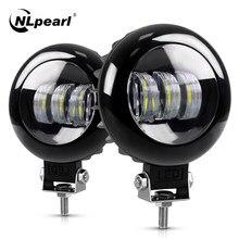 NLpearl Off światło drogowe Bar/światło robocze 12V 24V 30W LED światło robocze Bar dla samochodów ciężarowych Jeep łódź 4x4 SUV ATV Spot Beam LED światła przeciwmgielne