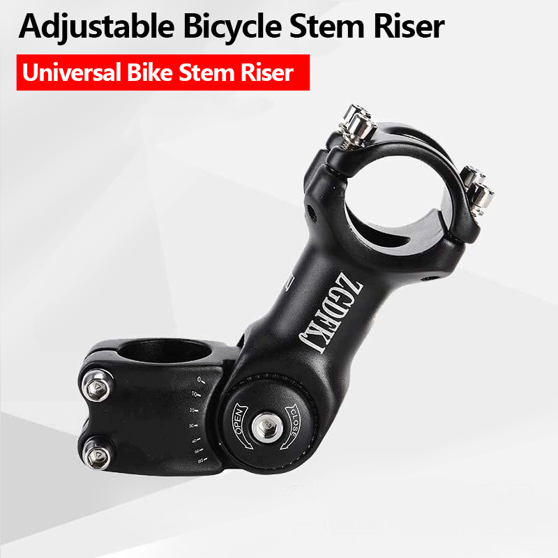 Mountain Road Bike Stem Riser Adjustable MTB Bicycle Handlebar Tools 25.4//31.8mm