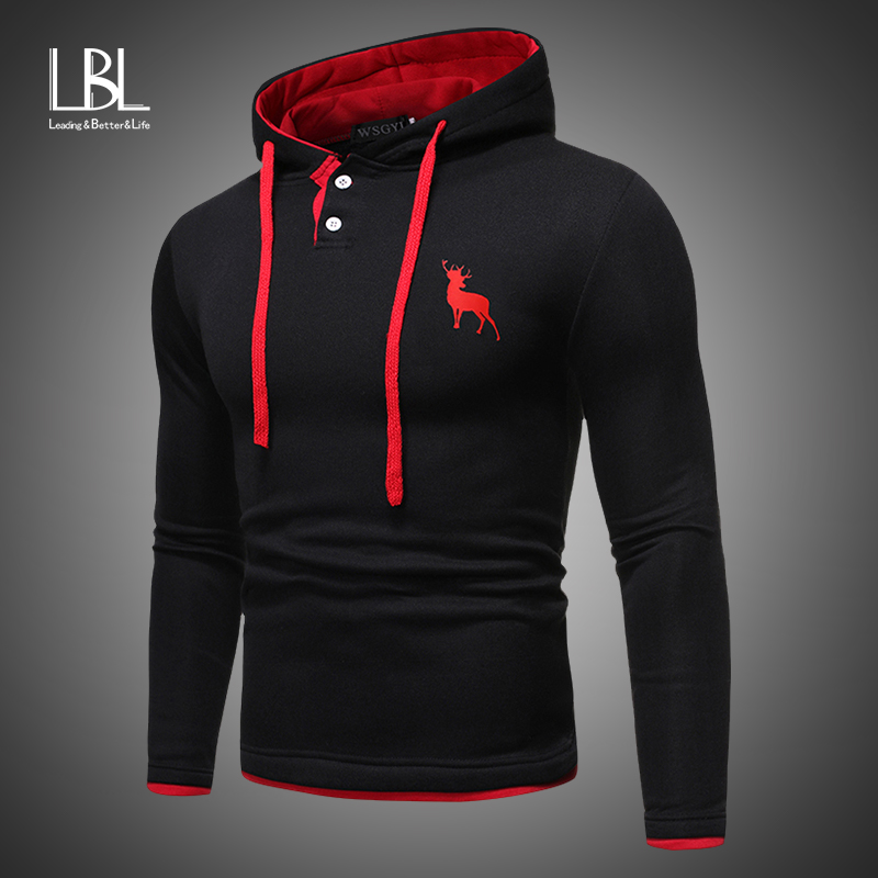 Autumn Fashion Casual Solid Hoodies Men/women Pullover 2019 Hooded Sweatshirt Men Hooded Hoodie Pullover Zipper Blouse Plus Size