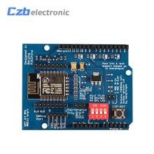 SP8266 シリアル無線 Lan シールド拡張ボードモジュールと ESP 12E CC3000