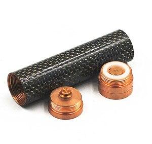 Image 3 - Bateria mecânica de fibra de carbono, 18650 mod vaporizador vapor mech mod vs nemesis mod