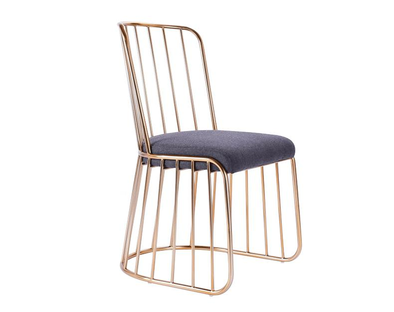 Nordic Simple Modern Bar Stool Gold Wrought Iron Dining Chair Living Room Lounge Chair Dining Chair Cafe Bar Stool Bar Chair