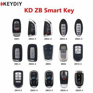 Image 1 - جديد الأصلي KEYDIY KD الذكية مفتاح العالمي متعددة الوظائف ZB سلسلة التحكم عن بعد ل KD X2 مفتاح مبرمج