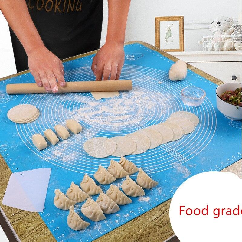 Accessori da cucina In Silicone di Cottura Mats Copriletto Pasta Della Pizza Non-Stick Maker Holder Pasticceria Strumenti di Cottura Utensili Da Cucina Gadget 1