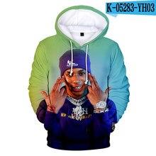 Cool Newest NLE Choppa Rapper 3D Harajuku Hoodie Sweatshirt Adult Casual Streetwear Hoodies High Quality Pullovers Hip Pop