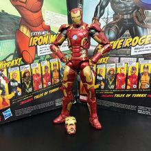 Marvel Legends Iron Man MK 43 Action Figure Armor Age of Ultron Avengers 6