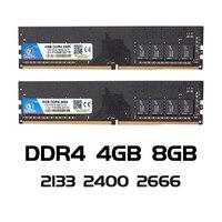 Memória ddr 4 pc4 2133 2400 2666 mhz desktop ddr4 placa mãe memoria 288 pin veineda ddr4 8 gb computador pc ram 4 gb 8 gb 4g 8 g|RAM|Computador e Escritório -