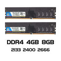 VEINEDA ddr4 8 gb PC computadora RAM 4GB 8GB 16 gb 4G 8G Memoria DDR 4 PC4 2133, 2400, 2666 Mhz, placa base de escritorio Memoria 284-pin