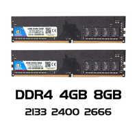 VEINEDA ddr4 8 gb PC ordinateur RAM 4GB 8GB 4G 8G mémoire DDR 4 PC4 2133 2400 2666Mhz bureau carte mère Memoria 284-pin