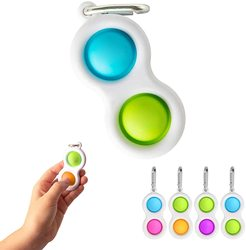 Dropshipping Fidget Simple Dimple Sensory Squishy Toys Flipping Board Brain Teasers Education Toys For Kids Adults Stress