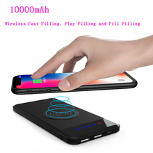 power bank 10000mah New digital display stand wireless charging mobile 10000mAh Power Bank treasure