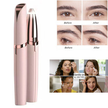 New Electric Eyebrow Trimmer Lipstick Brows Pen Hair Remover