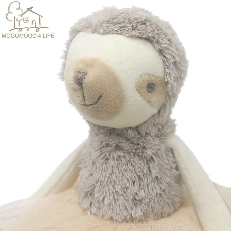 יוקרה Mogo בלרינה עצלן בובת נסיכת עצלן בובת פרווה בובת תינוק בובת יום הולדת מתנת אופנה בפלאש צעצוע כרית דקורטיבי