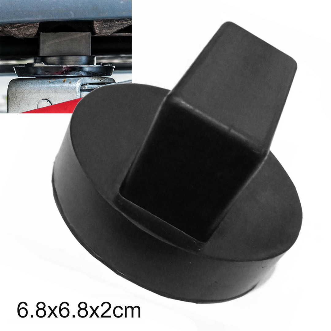 1pc Floor Slotted Car Rubber Jack Pad Frame Protector Adapter Jacking Disk Pad Tool For Mercedes Pinch Weld Side Lifting Disk|  - title=