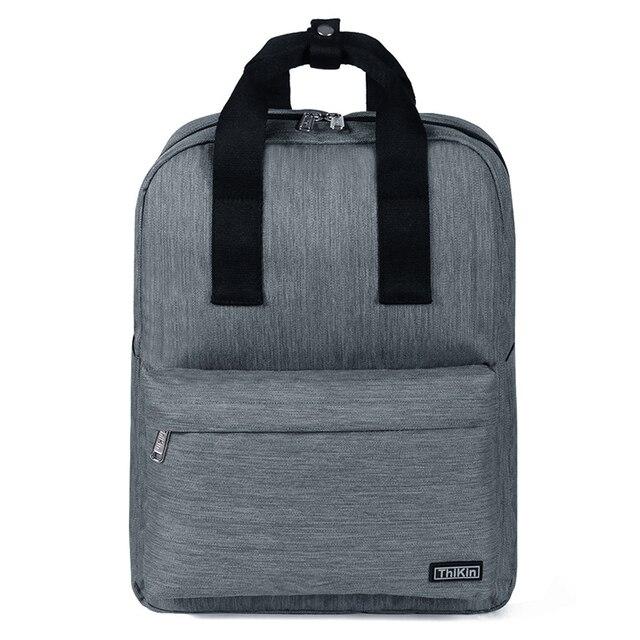 THIKIN Unisex Laptop Backpack 15 Inch Rucksack SchooL Bag Travel Waterproof Backpack Men Notebook Computer Bag Business