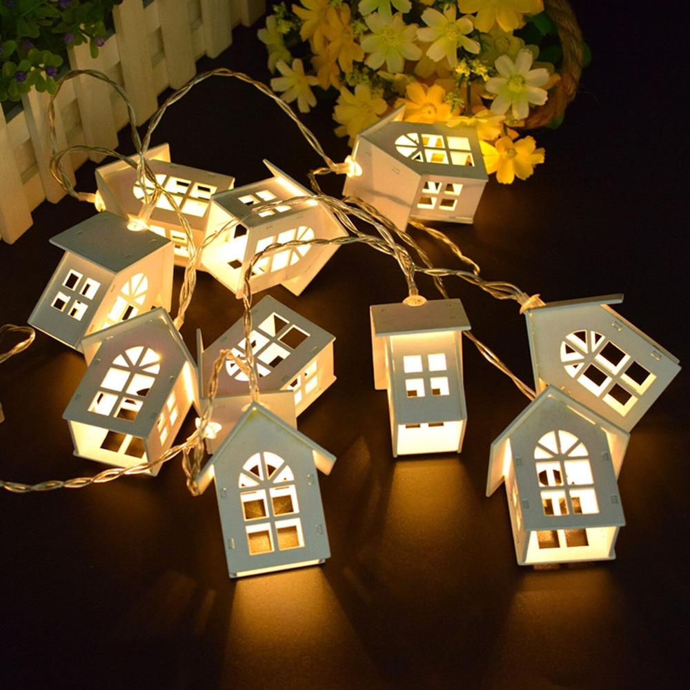 2M LED guirlande lumineuse fée guirlande bois maison 10LED s noël nouvel an décoration mariage fête vacances chambre nouveauté lampes 3