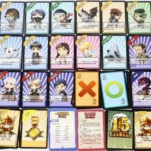 Vampire Come Dark, пожалуйста, закрытые глаза, держатель карточек настольных игр с номерной табличкой
