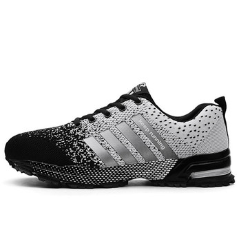 Fashion Men's Shoes Portable Breathable Running Shoes 46 Large Size Sneakers Comfortable Walking Jogging Casual Shoes 48 10
