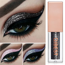 Black Glitter Eyeshadow Shimmer Eye Pigment Nude Makeup Waterproof Eye Shadow Liquid Festival Eyes Metallic Smokey Cosmetics