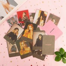 8 pièces/ensemble KPOP BLACKPINK Album auto-fait papier Lomo carte Photo carte affiche Photocard Fans cadeau Collection papeterie ensemble(China)