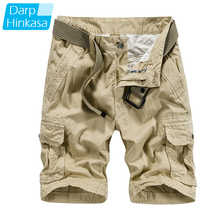 DARPHINKASA High Quality 2020 Casual Loose Shorts Men Toolin