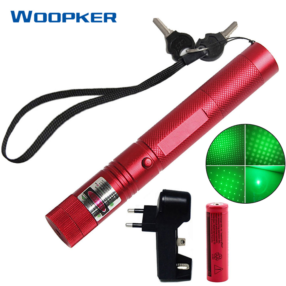 5mW Green Laser Pen Lazer Sight 5000m 532 Nm Powerful Lasers 303 Pointer With Battery And Charger