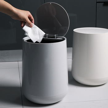 Trash Cans For The Kitchen Bathroom Wc Garbage Classification Rubbish Bin Dustbin Bucket Press-Type Waste Bin Garbage Bucket trash cans for the kitchen bathroom wc garbage classification rubbish bin dustbin bucket press type waste bin garbage bucket