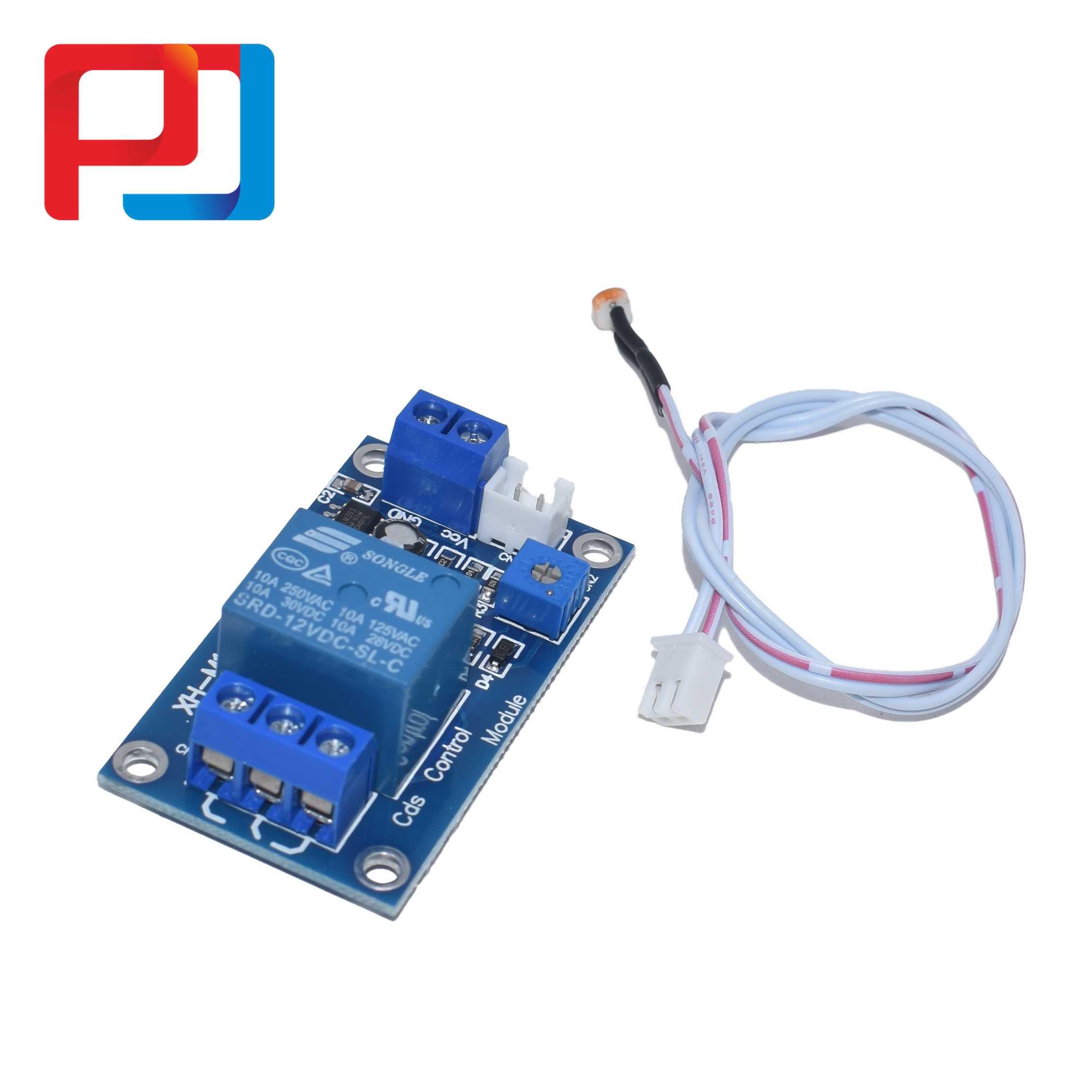 Image 3 - XH M131 DC 5V/12V Light Control Switch Photoresistor Relay Module Detection Sensor 10A brightness Automatic Control Module 10PCSConnectors   -