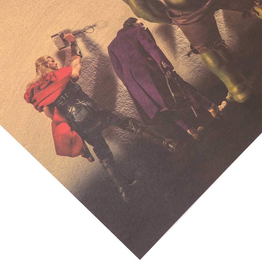 1 Máy Tính Cổ Điển Nhân Vật Điện Ảnh Trong Phòng Tắm Trích Dẫn Poster Trẻ Em Bắc Âu Phòng Khách Kraft Giấy Nghệ Thuật Trang Trí Nhà Treo Tường miếng Dán Kính Cường Lực