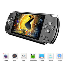 Retro 4.3 inch Handheld Game Player Preload 10000 Games For Arcade Games 32 Bit 8GB Game Console With 10 Simulators