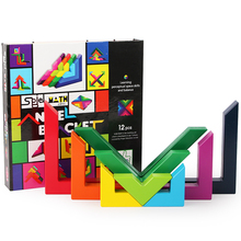 Wooden Puzzle Right Angle Puzzle Games Educational Toys For Children Jigsaw Puzzle Wood blocks Developing Toys For Boys Girls стоимость