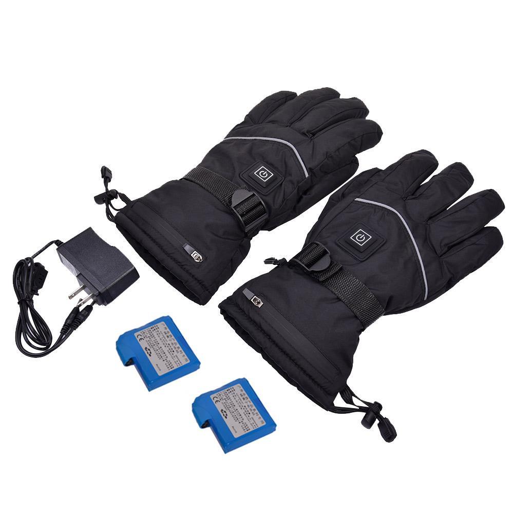 Перчатки с подогревом унисекс, УДОБНЫЕ ФУНКЦИОНАЛЬНЫЕ водонепроницаемые перчатки с защитой от ветра для ночных поездок