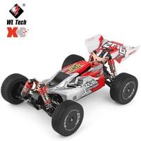 WLToys RC Car 144001 2.4G Racing RC Car 70 KM/H 4WD elettrico ad alta velocità fuoristrada Drift telecomando auto camion giocattolo per bambini