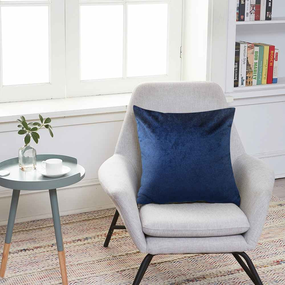 Housse De Coussin Rectangulaire กำมะหยี่เบาะรองนั่งหมอนหมอนสีฟ้าสีเหลืองสีชมพูสีขาวสีดำโซฟาโยนหมอน