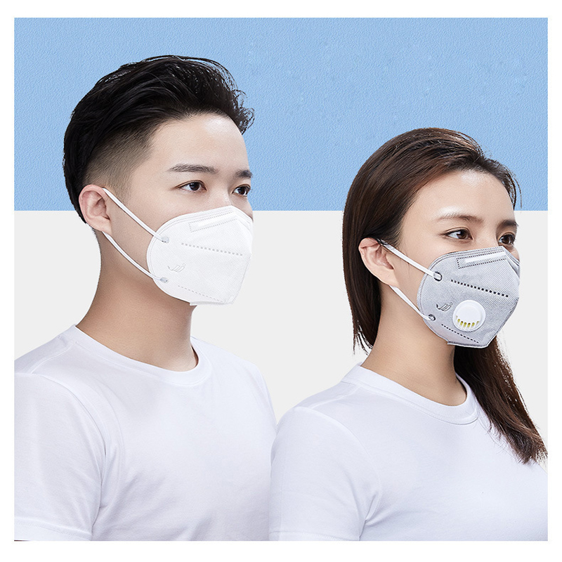 Reusable N95 Mask with Respiratory Valve Suitable for Dust Particles Influenza and Virus Protection 4