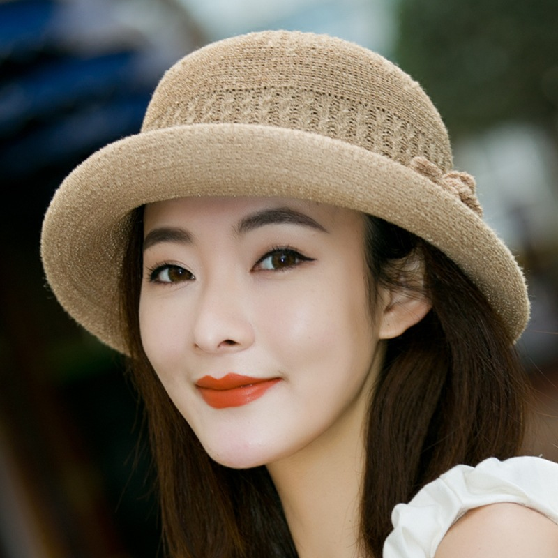 Knitted fisherman's hat in spring, literary hat, female, Korean version of British hat in autumn and summer, Korean tide,