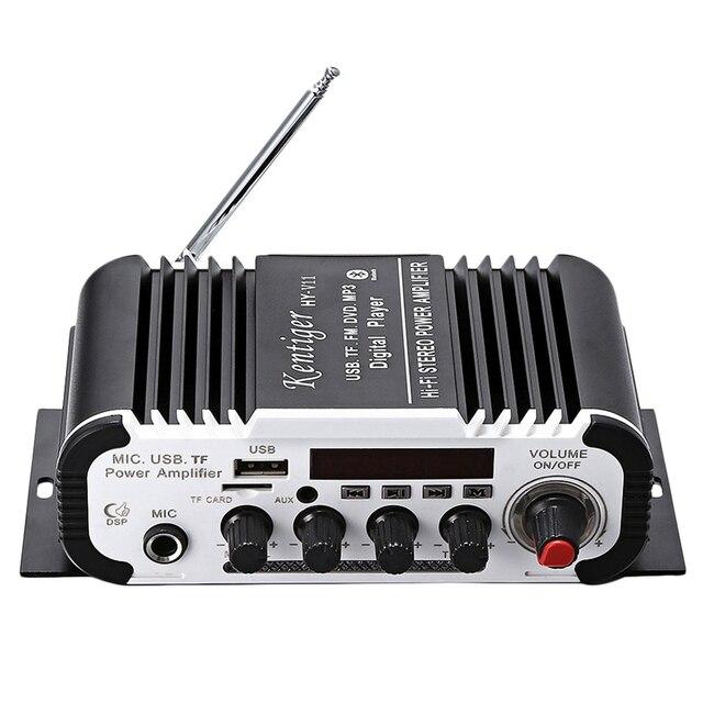 Kentiger Hy   V11 بلوتوث مكبر للصوت 2 قناة سوبر باس يا مكبر للصوت مع البعيد تحكم Tf Usb Fm 85Db Mp3 Fm راديو