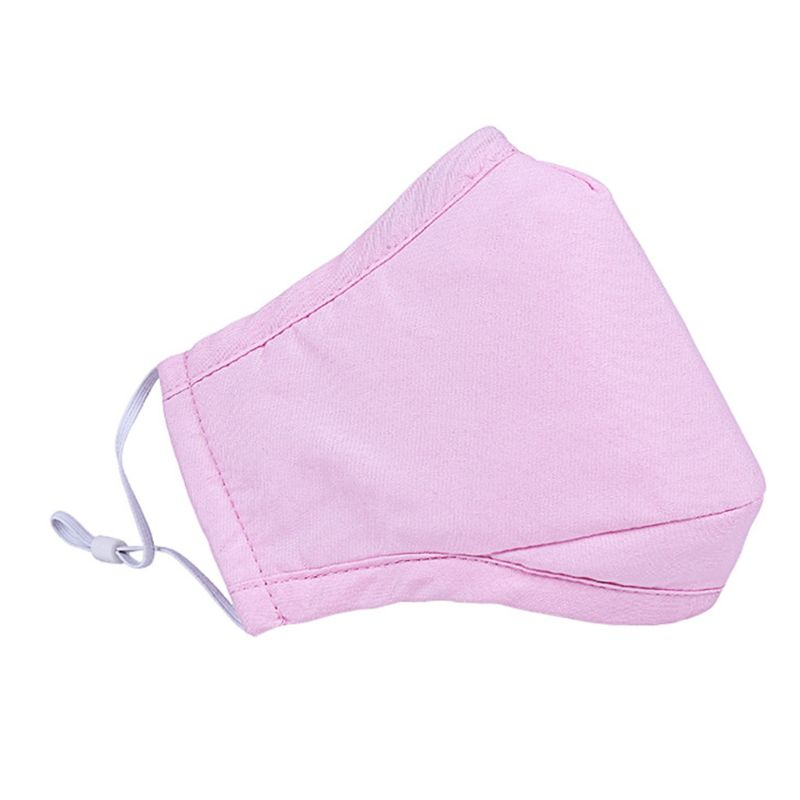 Anti Pollution Dust Mouth Mask PM2.5 Filter Washable Cotton Replaceable Filters 95AB